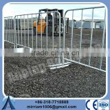 best service high quality reasonable price used hot dipped galvanized steel powder coated Crowed Control Barrier