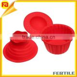 Wholesale cup Cake Silicone Bakeware Giant Cup cake Mold Muffin Chocolate Cupcake Cookoe Baking Tool Mould