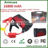 China Supplier Power Supply and Car Jump Start Kit 12v 16800mAh Auto Jump Starter Booster Pack                                                                         Quality Choice                                                     Most Popular