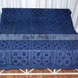 Indian Mirror-work, Thread-work, Embroidery Hand-work BedSpreads Bed Sheets directly from Wholesalers
