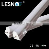 High performance half aluminum half PC cover t5 led tube light 1 foot 30cm with on/off switch led lamp