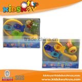 Custom design animal funny pvc toy baby bath toys bath accessory set for kids bath baby toys