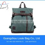 2014 Vintage Canvas Travel Backpack Weekender Bag,College Backpack,camping hiking sport backpack