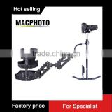 Factory price !Multifunction photographic bracket 3 Dual-arm Steadycam rig dslr
