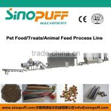 High quality double screw animal food/dog food/treats/cat food extruder machine