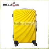 colorful abs spinner trolley bags 20''24''28'' travel trolley suitcase