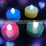 Changing Multicolor Battery Operated christmas Cute Tea Light Led Candle