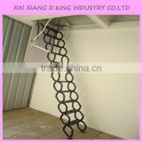 Hydraulic electric folding attic ladders, telescopic ladder attic                                                                         Quality Choice