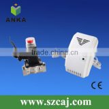 natural lpg gas safety device with automatic shut-off valve