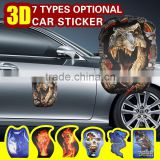 Decoration 3D car sticker reflective motorcycle accessories animal patterns