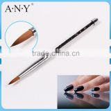 ANY Nail Art Crystal Extension Nails Building Glitter Handle Pure Kolinsky Nail Art Pen for Acrylic Nails