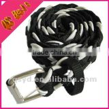 new model woman fashion webbing knitted belt