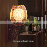 American and European Style Wall lights Antique Wall Lamp Ceramic Wood Craft Bedside Home Deco Hotel Vintage Bathroom Light