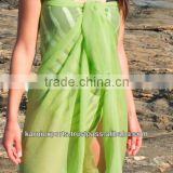BEACHWEAR SWIMWEAR POLYESTER PAREOS for sexy & beautiful womens exotic indian fabrics worldwide famous pareos for girls