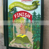 Decorative bus stop posters screen printing