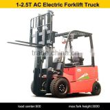 Imported high quility of Configuration GD1/GD2,Model CPD25 four wheel AC electric forklift truck