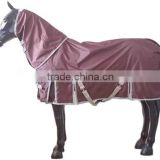 100% polyester ripstop oxford fabric with PU coated for horse rug