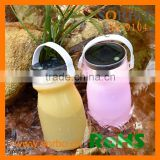 Inflatable sealed water bladder bottle with LED light lantern for fishing,bivouac,camping,cycling,hiking,tent