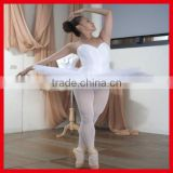 White Classic ballet dress leotards with skirt wholesale