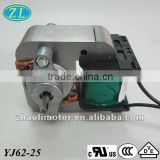 Oven fan motor Nebulizer motor Electric motor Ac motor Shaded Pole Motor YJ62-25: high quality motor manufacturer