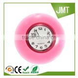 Bathroom Suction Cup Waterproof Wall Clock Resistant Timer