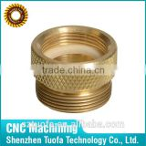 Brass small precision turned parts from shenzhen cnc workshop
