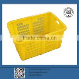 New design mesh plastic crate/plastic turnover box/plastic basket for fruit and vegetable