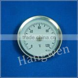 pipe clip on bimetal thermometer 0-120C