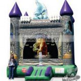 halloween ghost Scary Castle inflatable Bouncer for kids/halloween inflatable haunted house for sale