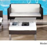 Outdoor rattan sofa modular sofa aluminum outdoor furniture