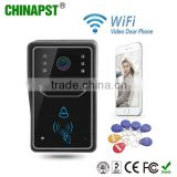 Best Quality WIFI Visual Intercom Doorbell/Video Door Phone /WIFI Camera For IOS, Android Smart Phones PST-WIFI001ID