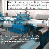 Foshan HOt sale design for 1400mm width stainless steel strip coil slitting line factory in Guangdong