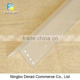 INQUIRY ABOUT Dull Polished Acrylic Corner Guards, Frosted Clear Plastic Corner Guards