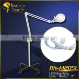 Vertical Electronic Led Magnifying 5X Lamp For Nail Art Moveable