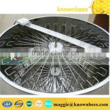 hot sale beekeeping equipment 20 frames electrical stainless steel honey extractor with motor bottom