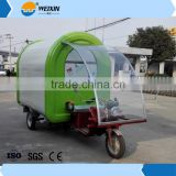Electric Bicycle Food Van Truck Trailer With Customized Head