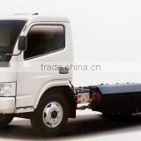 Dongfeng wheelbase 3308mm CNG Natural gas special vehicle chassis