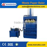 Hydraulic used clothing baler/used clothes baler machine for tire with CE and ISO9001