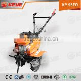Belt drive 7hp Portable and high quality mini power tiller cultivator with top spare parts and multi-functions