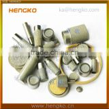 Microns Metal Nickel Titanium Brass Bronze Stainless Steel Sintered Porous Filtration Material