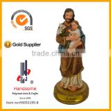 8 inch Joseph with babys religious statues wholesale christmas figurine