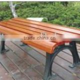 backless wood bench wood park bench cast iron and wood garden bench