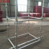 Steel Cuplock Scaffold System with Diagonal Brace Cuplock Scaffold Parts for Construction