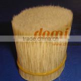 SYNTHETIC POLYESTER PBT NYLON PET BRISTLES TAPERED HOLLOW TIPS FILAMENTS FOR PAINT BRUSH MAKING