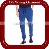 Custom man 100%polyester sweat pants cheap wholesale