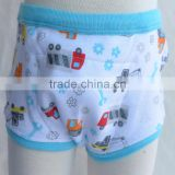 customized 100% Cotton Newest Pattern reusable baby training pants