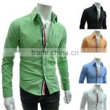 Wholesale walson Latest style luury Italian fashion shirt,organic cotton formal shirt apparel