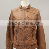 lady's Pu leather Motocycle Jackets #LPU0526