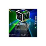 XL-26 Amazing cyan effect animation 300mW blue laser,100mW green laser stage lighting for Disco,Pub