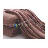 Brown Orange White Comfortable Yarn Towel , Customized Cotton Bath Towels